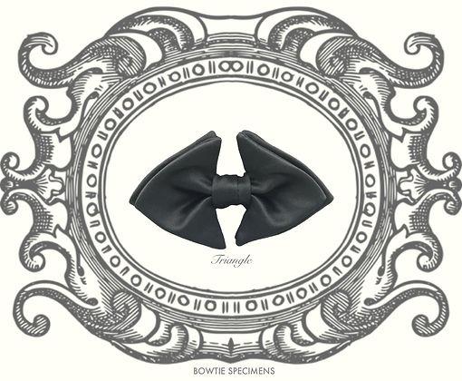 トライアングル,三角形,Triangle,蝶ネクタイ,ボウタイ,ブランド,標本,通販,bow tie,specimens,types,brand,japan