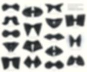 蝶ネクタイ,ボウタイ,種類,型紙,イラスト,素材,gif,標本