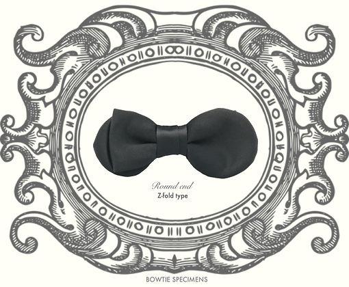 ラウンド,エンド,曲線,蝶ネクタイ,ボウタイ,ブランド,標本,通販,bow tie,specimens,types,brand,japan
