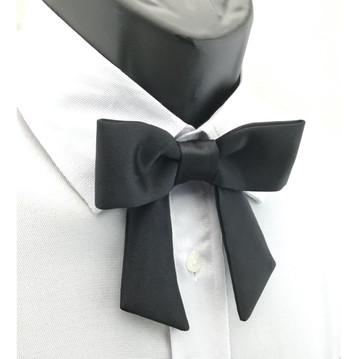 Drop-bow-knot Oblique end