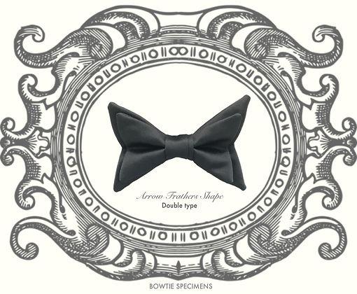 アローフェザーズ,矢羽根,,Arrow,Frathers,Shaped,蝶ネクタイ,ボウタイ,ブランド,標本,通販,bow tie,specimens,types,brand,japan