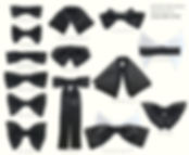 bow tie,men,suspenders,black,tutorial,easy,clipart,types,history