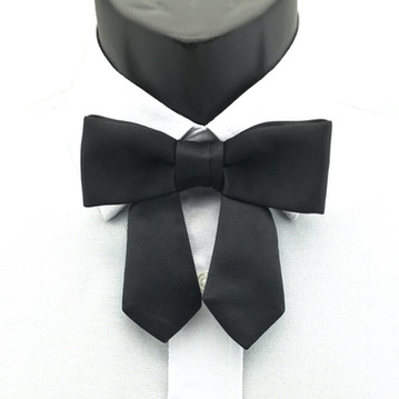 Drop-bow-knot Pointed end