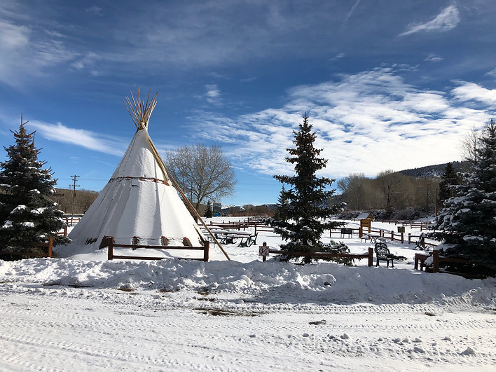 UTE BLUFF LODGE TEEPEE