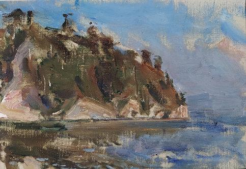 Cape Polovinny by YURIY USHAKOV