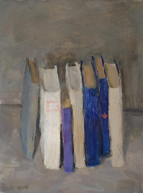 Still Life With Books by SAMIR RAKHMANOV