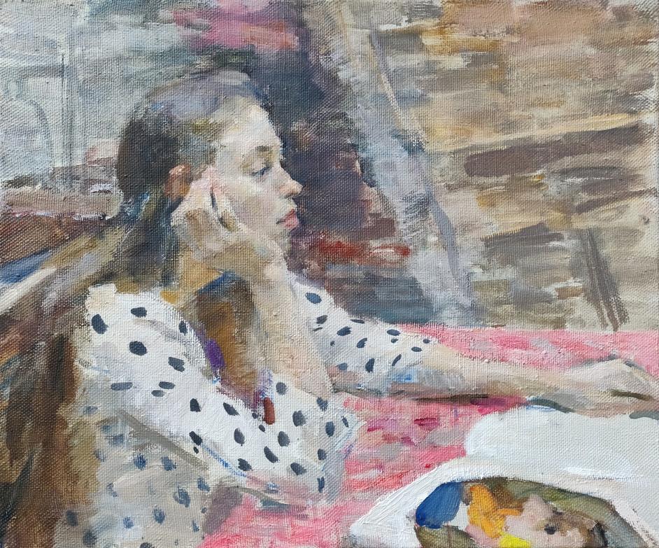 SamirRakhmanov_Portrait of Anya_40x50cm_