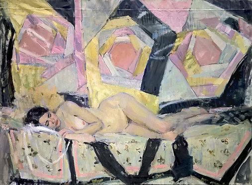 Sleeping Nude by SAMIR RAKHMANOV