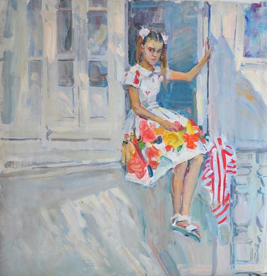 The Russian Ark_Yaroslava Tichshenko_Margot on a Balcony