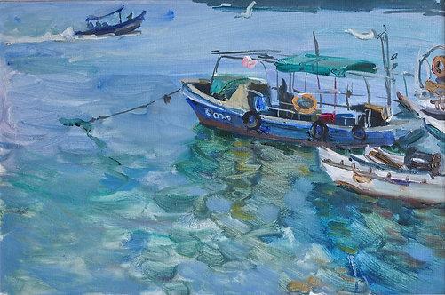 Chinese Fish Bay by YAROSLAVA TICHSHENKO