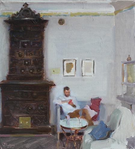 In my Studio by VALERIA PRIVALIKHINA