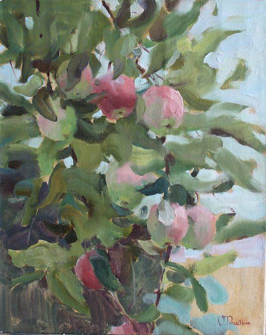 Apple Tree by VALERIA PRIVALIKHINA