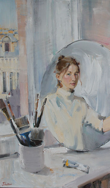 ValeriaPrivalikhina_Self-portrait in stu