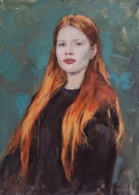 Flames. Elena by ANDREW PIANKOVSKI