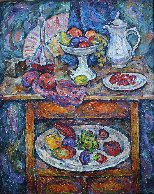 Still Life. Hommage to Mashkov by VARVARA VYBOROVA