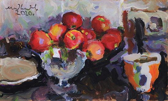 Apples by EUGENY MEDVEDEV