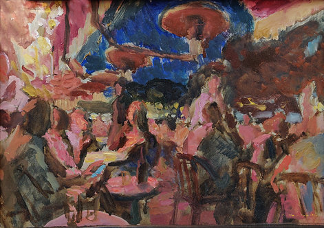 Aux Folies by SAMIR RAKHMANOV