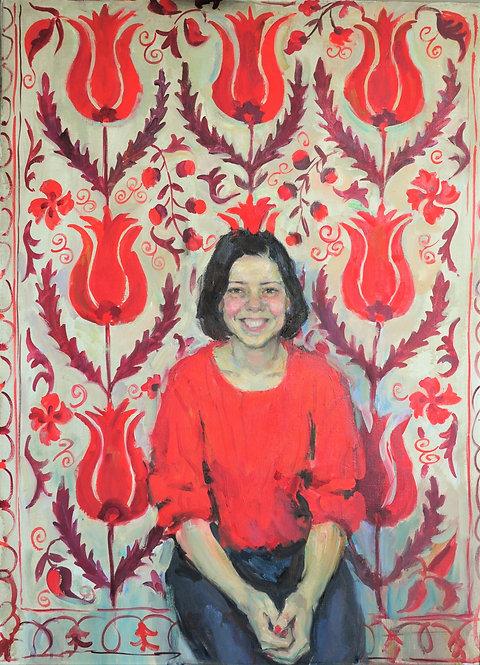 Pauline. The Queen of Tulips by YAROSLAVA TICHSHENKO