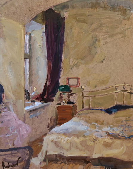 SamirRakhmanov_Yellow Interior. On quara