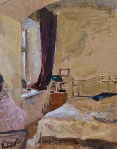 Yellow Interior. On quarantine by Samir Rakhmanov