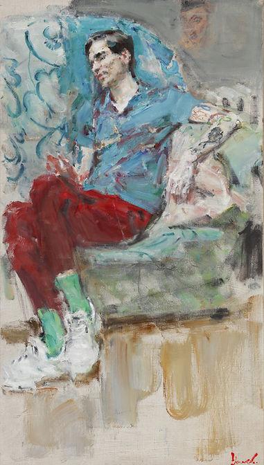 Yuriy Ushakov Victor Russian Ark Gallery Oil Painting