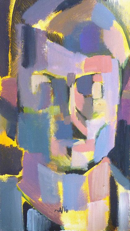 Self-Portrait by NIKOL KLAMPERT