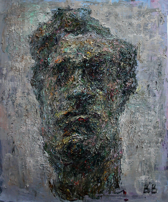"Study of Bourdelle's Sculpture ""Beethoven"" by VARVARA VYBOROVA"