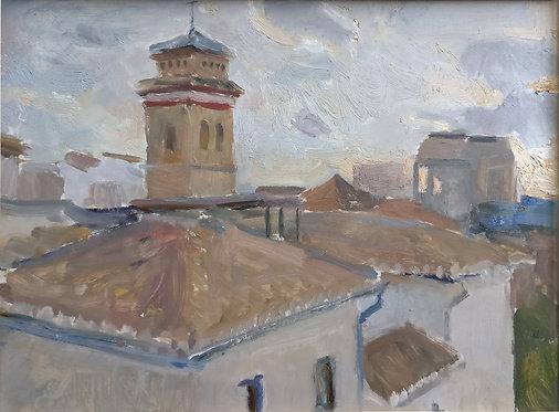 Rooftops in Granada by SAMIR RAKHMANOV