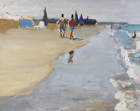 On the Beach by SAMIR RAKHMANOV