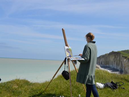 Art pilgrimage in Normandie
