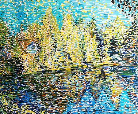 Water Pond by NIKOL KLAMPERT