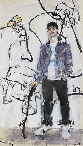 Yuriy Ushakov Friends Zhihai Diploma Painting Russian Ark Gallery Oil Painting Repin Art Academy