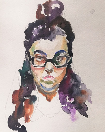 $300 Carantine selfportrait #2 20,5on22
