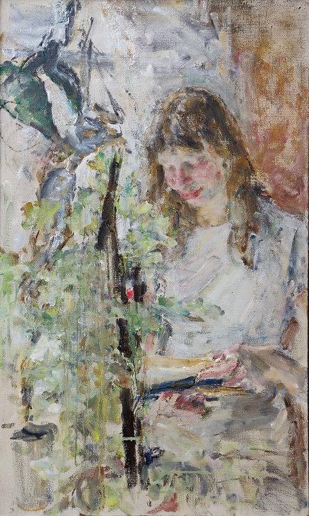 Portrait of Ksenia by YURIY USHAKOV