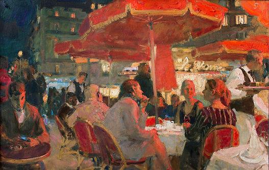 "At ""La Rotonde"" by SAMIR RAKHMANOV"