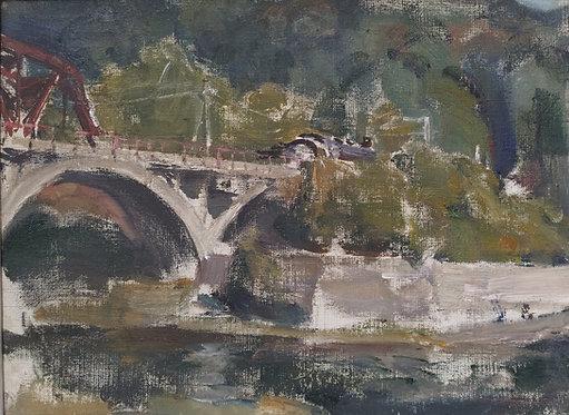 Polovinny Bridge #2 by YURIY USHAKOV