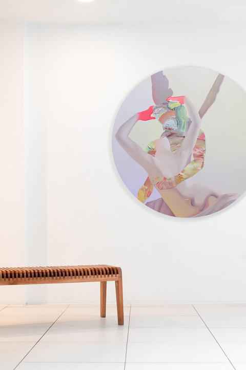 """""""All of You"""" (installation view)"""