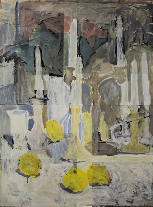 Candles and Lemons by VARVARA VYBOROVA