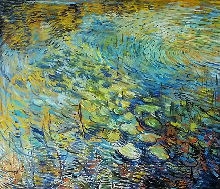 Evening Lilies by NIKOL KLAMPERT