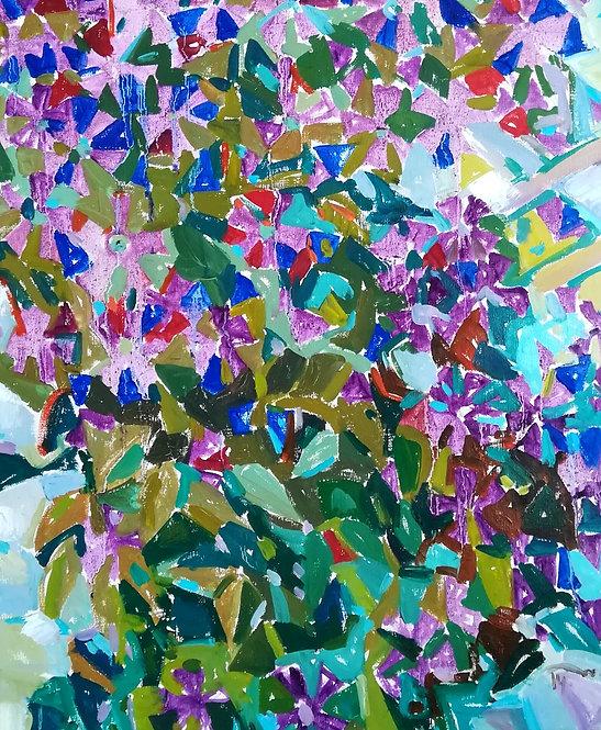 Violet Harmony by NIKOL KLAMPERT