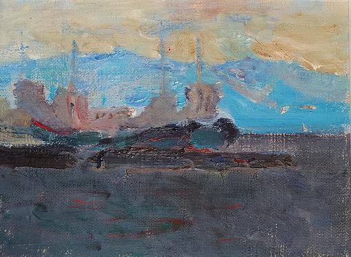 Baikal. Evening by YURIY USHAKOV