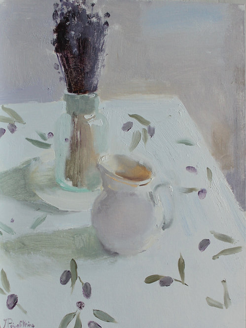 White Still Life by VALERIA PRIVALIKHINA