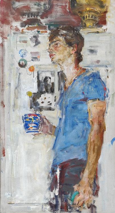 Portrait of Ivan by YURIY USHAKOV