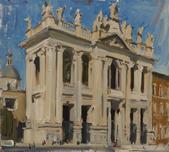 Basilica di San Giovanni in Laterano. Rome by ILYA ZORKIN