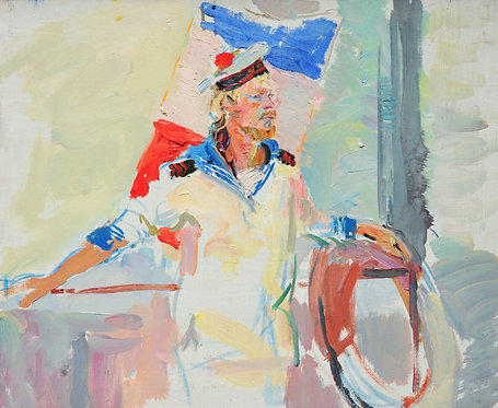 Sailor by YAROSLAVA TICHSHENKO