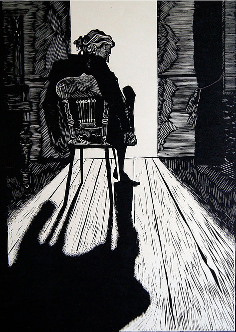 Selfportrait by VARVARA DROBINA