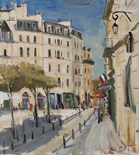 Paris. Place Dauphine by ILYA ZORKIN