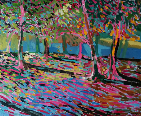 Evening Garden by NIKOL KLAMPERT