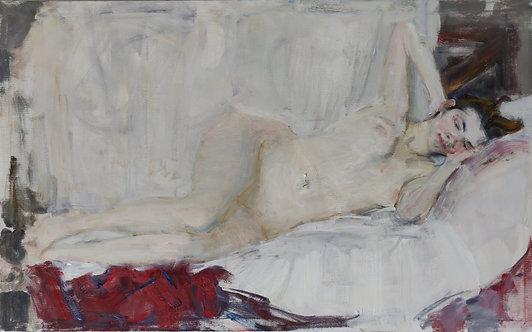 Reclining Nude by YURIY USHAKOV