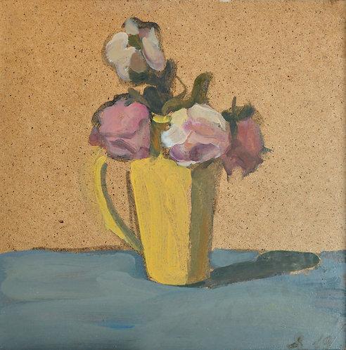 Dying Roses by YAROSLAVA TICHSHENKO